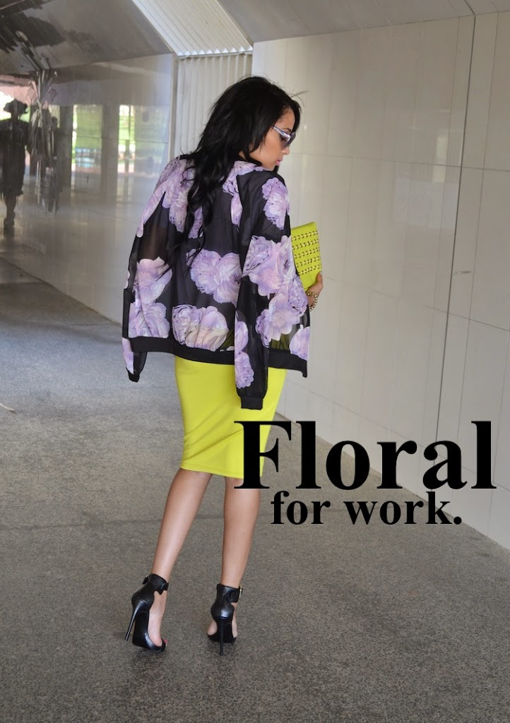 Floral for Work {OOTD}