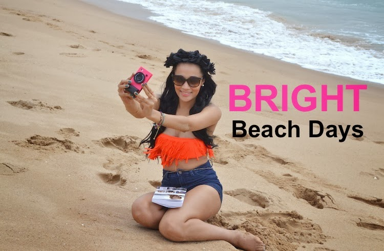 BRIGHT Beach Days {OOTD}
