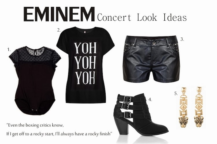 EMINEM Concert Outfit Ideas & a little TMI
