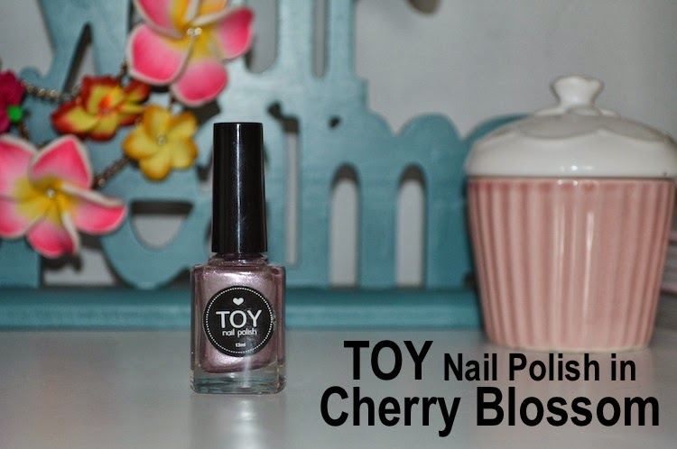 Beauty Review: TOY Nail Polish in #CherryBlossom