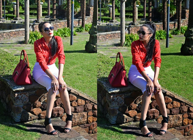 Red + White {OOTD}