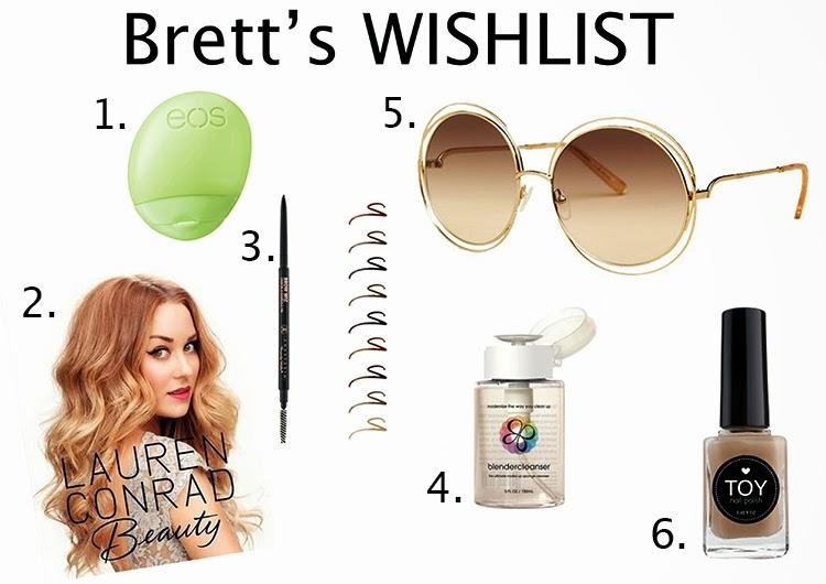 Brett's WISHLIST {July 2014}