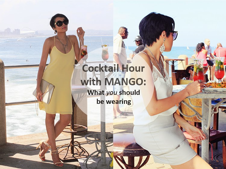 Cocktail Hour with MANGO {OOTD}