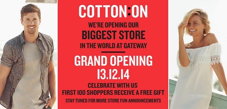 COTTON ON #CottonOnGateway {Giveaway}