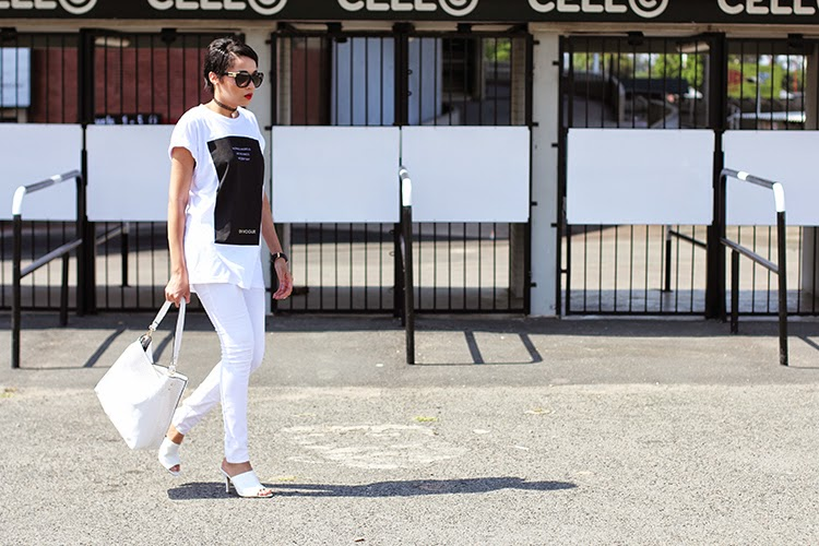 Nothing Haunts Us Like The Things We Didn't Buy {Monochrome Monday OOTD}