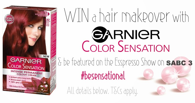 WIN a hair makeover with Garnier Color Sensation #BeSensational