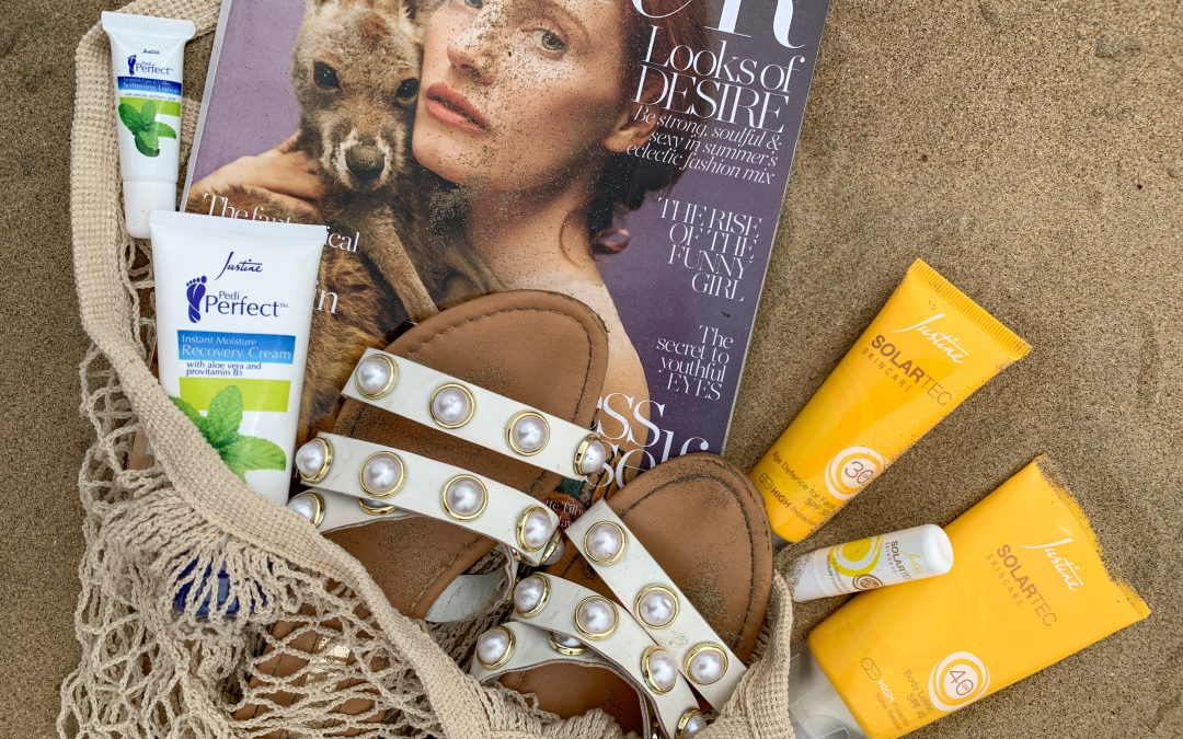 THE IMPORTANCE OF SUN PROTECTION W/ JUSTINE SOLARTEC™️ SKINCARE | LIFESTYLE